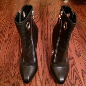 Designer Alexander McQueen ankle boots